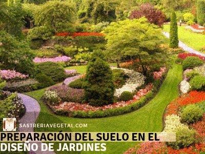 Suelo en el Diseño de Jardines