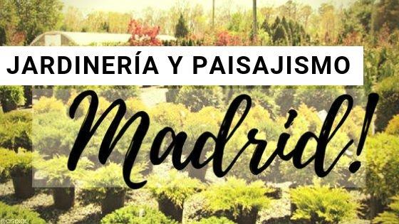 Madrid, Paisajismo y Jardinería