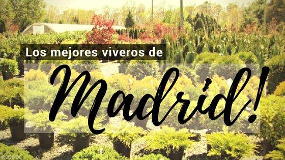 Madrid, Directorio de Viveros.