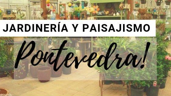 Pontevedra, Paisajismo y Jardinería