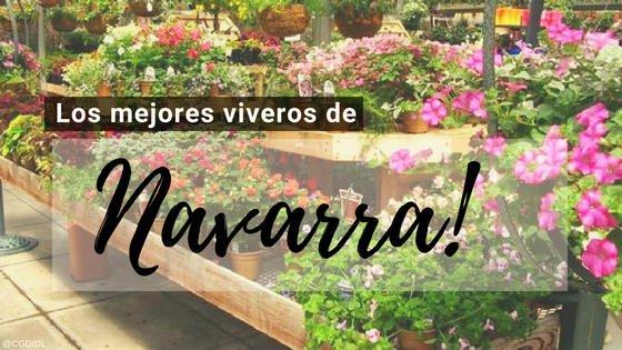 Viveros en Navarra, España.