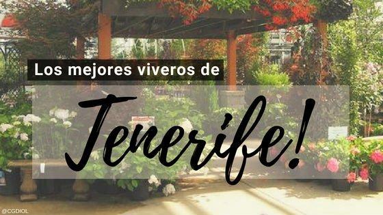 Viveros en Tenerife, España.