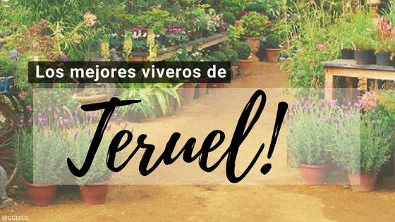 Viveros en Teruel, España.