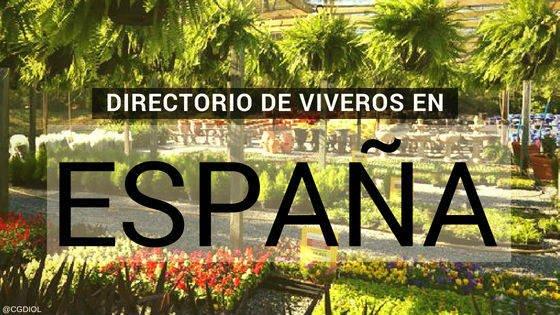Directorios de Viveros de España