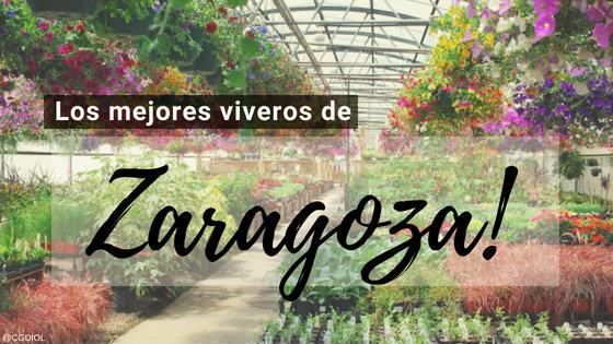 Viveros en Zaragoza, España.