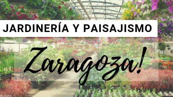 Zaragoza, Paisajismo y Jardinería