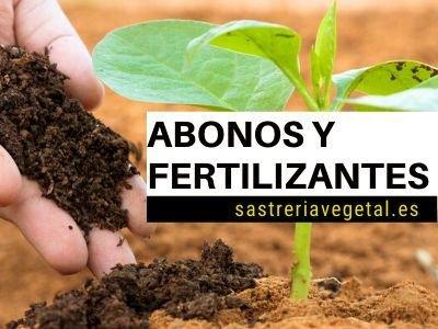abono orgánico y fertilizantes naturales