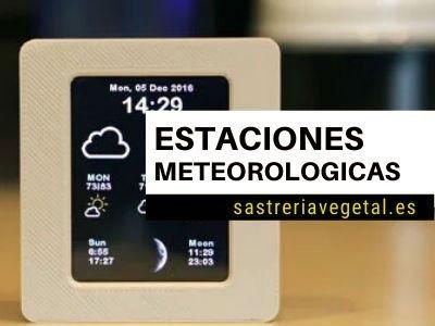 comprar estación meteorológica