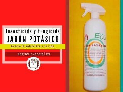 jabón potásico agricultura