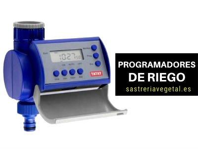 programador de riego profesional