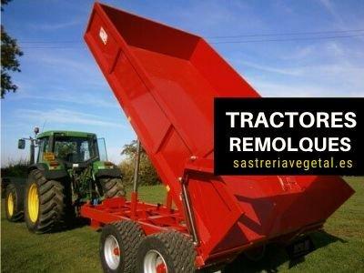 remolques para tractores nuevos
