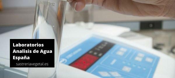Laboratorios para análisis de agua